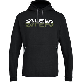 SALEWA Reflection Dry Veste à capuche Homme, black out melange